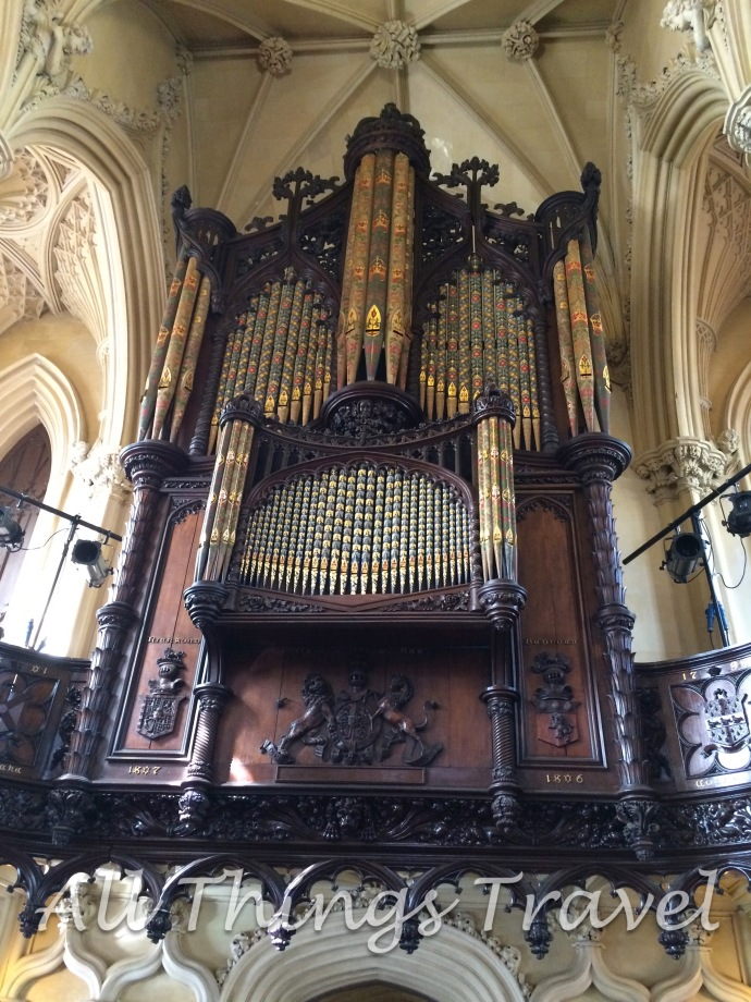Pipe Organ given to the Royal Chapel by Queen Victoria's consort, Prince Phillip