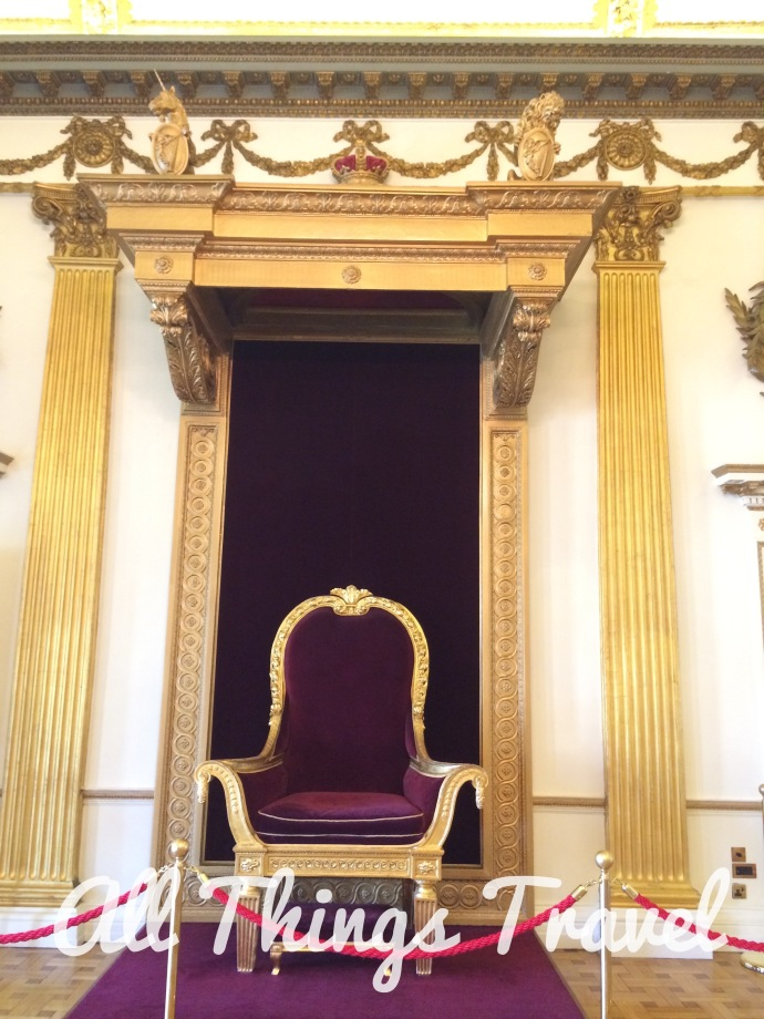 Throne with Step for Queen Victoria in the Throne Room, Dublin Castle