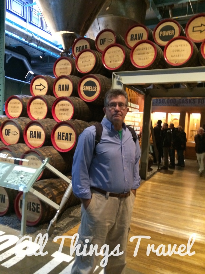 The Cooperage Exhibit showed Jim's favorite video explaining the barrel making process