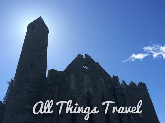 Round Tower and Cathedral at Rock of Cashel