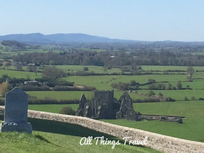 View of Hore Abbey from Rock of Cashel