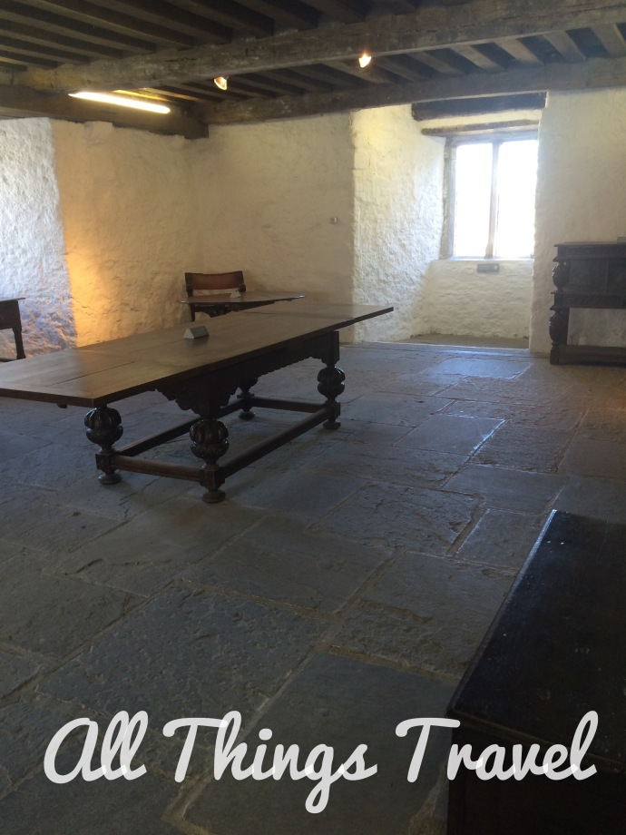 Inside the Keep at Cahir Castle