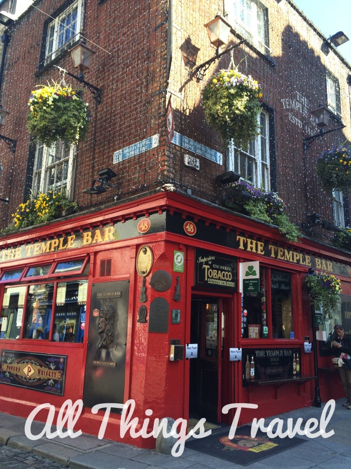 Iconic Temple Bar, Dublin