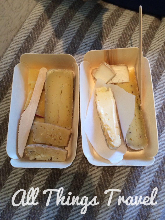 Cheese board from Little Cheese Shop in Dingle