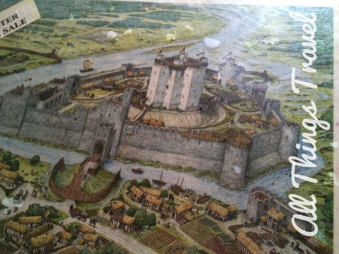 Artist rendering of Trim Castle