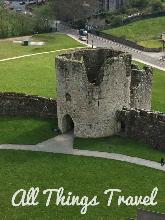 View of Barbican Gate at Trim Castle