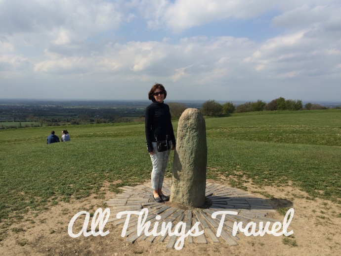 The Stone of Destiny at the Hill of Tara