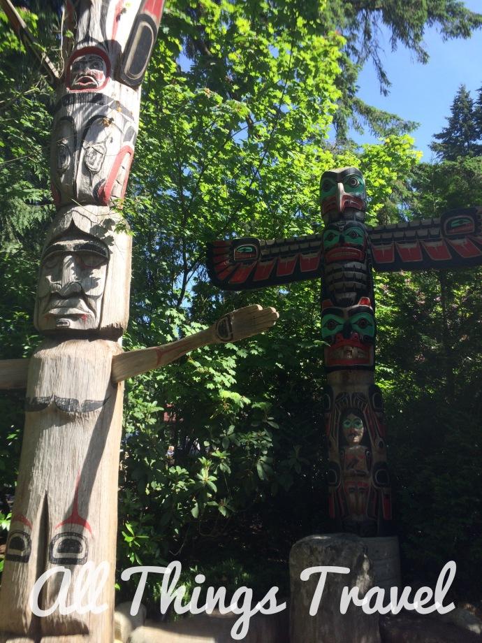 Totem Poles at Capilano