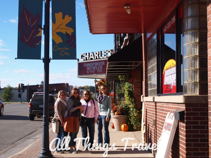 North Iowa Bloggers on Main Street, Charles City