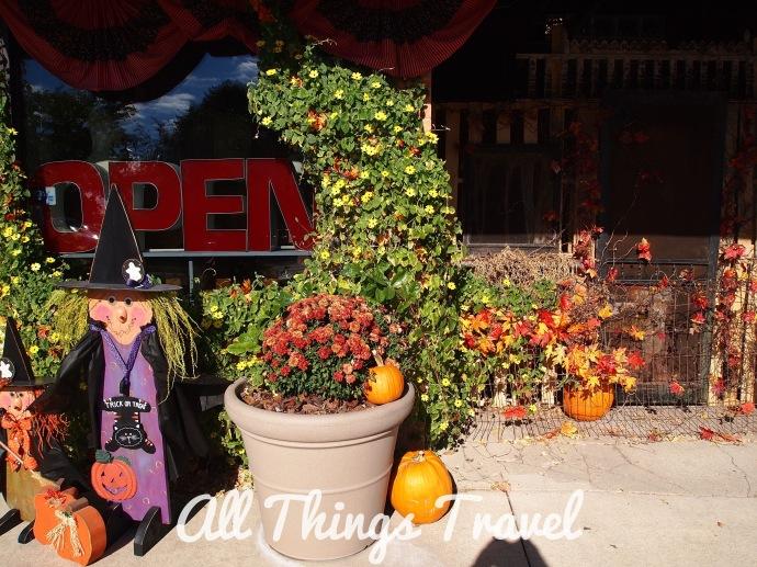 Fall Decorations on Main Street