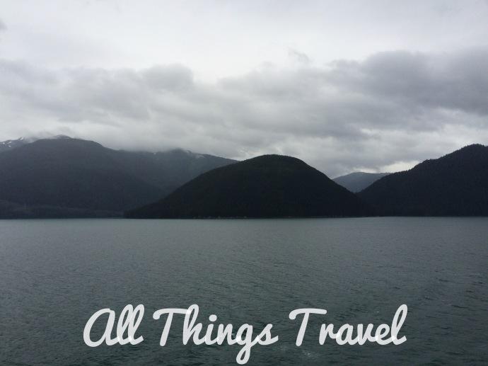 Approaching Juneau, Alaska